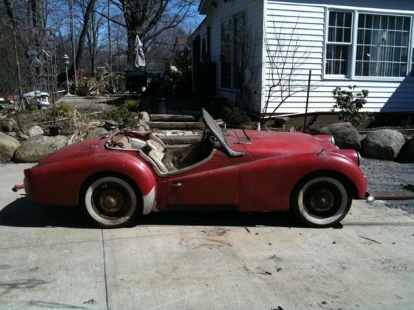 1961 Triumph Tr3 Side