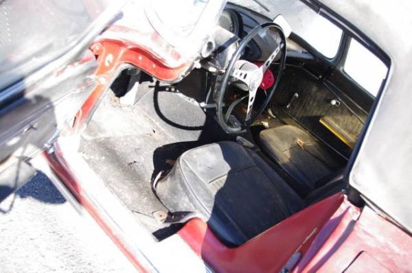 1962 Corvette Barn Find Interior