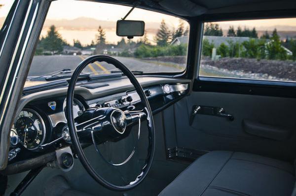 1962 Lancia Flaminia Berlina Interior
