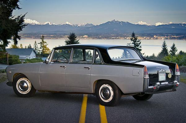 1962 Lancia Flaminia Berlina Rear