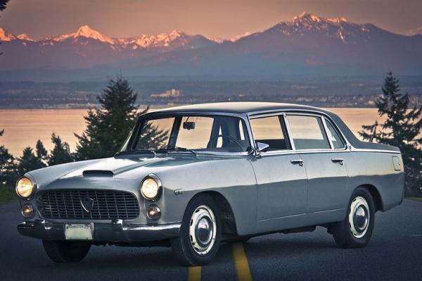Rolls Royce Build >> Italian Luxury: 1962 Lancia Flaminia Berlina