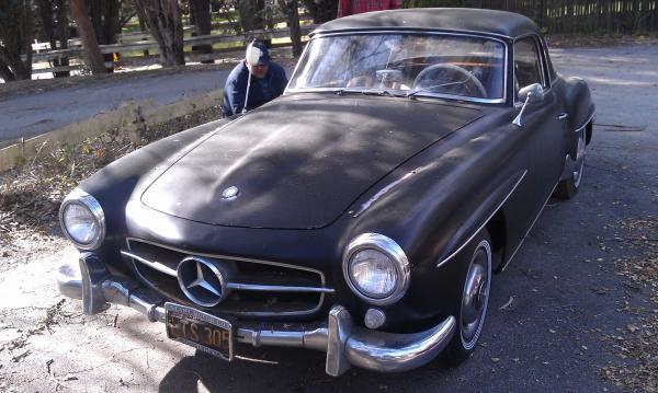 1962 Mercedes 190sl Survivor