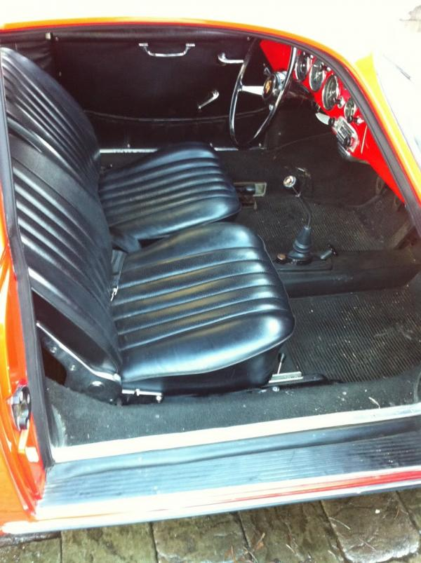 1962 Porsche 356 B Super 90 Interior