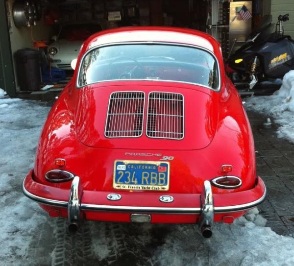 1962 Porsche 356 B Super 90 Rear