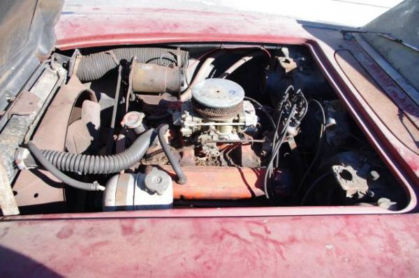 1962 Corvette Engine