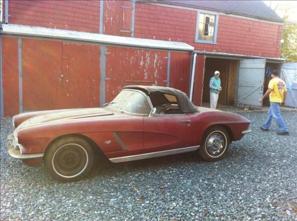 One Owner 1962 Corvette Barn Find