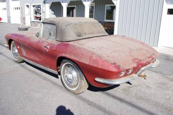 1962 Corvette Rear Corner