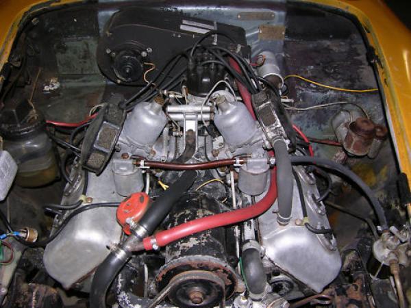 1962 Daimler Sp250 Engine