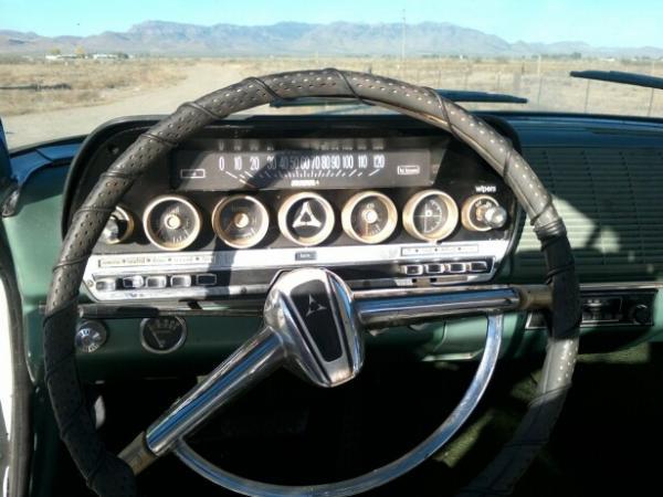 1962 Dodge Polara 500 Dash