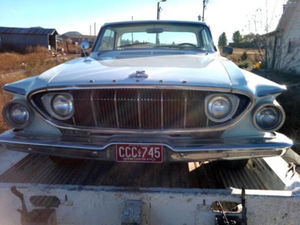 1962 Dodge Polara 500 Front