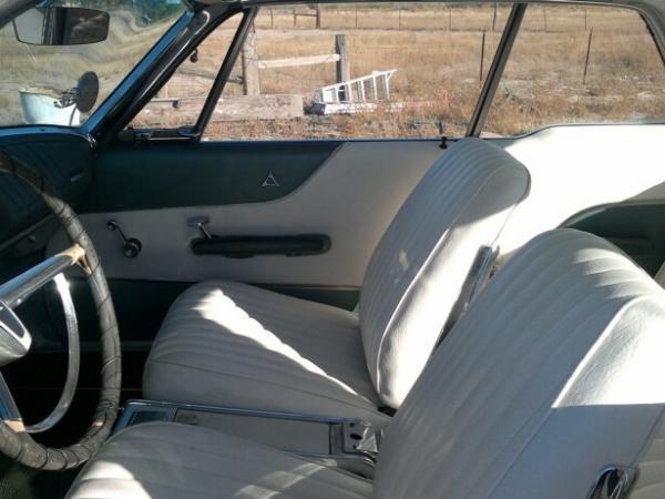 1962 Dodge Polara 500 Front Seats