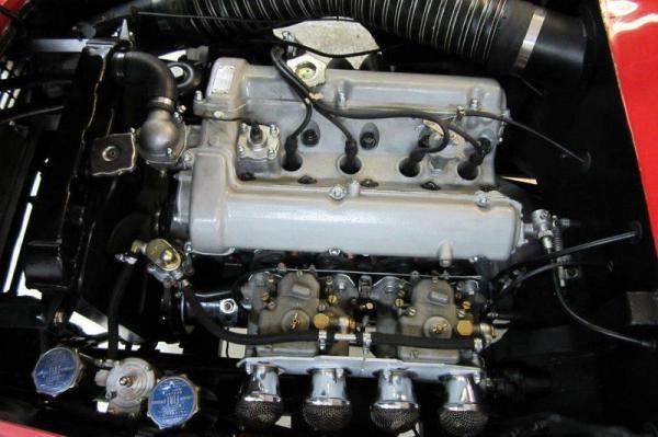 1962 Osca 1600gt Zagato Engine