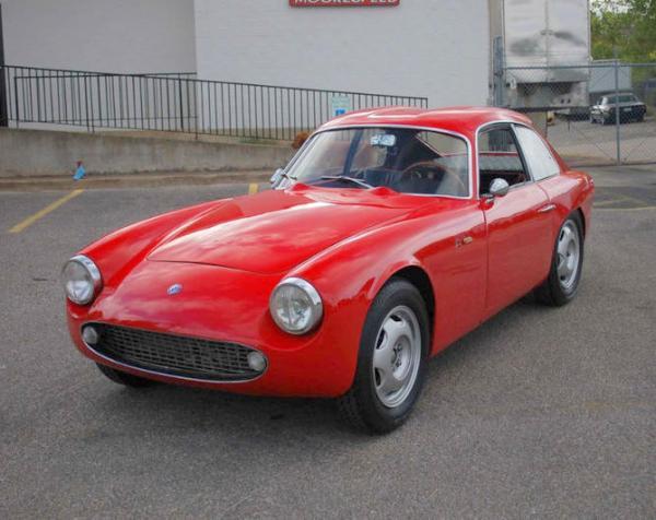 1962 Osca 1600gt Zagato Front Corner