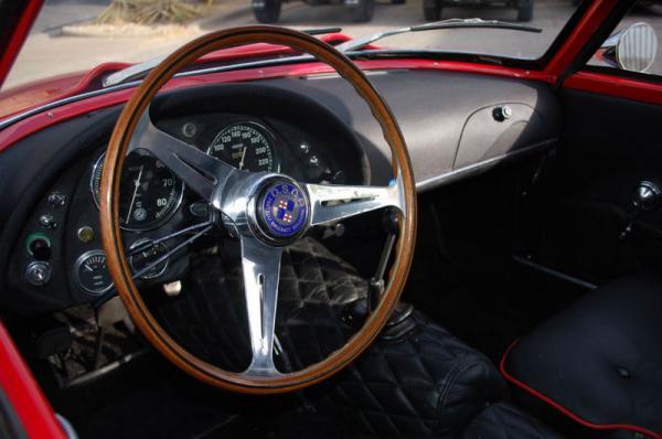 1962 Osca 1600gt Zagato Interior