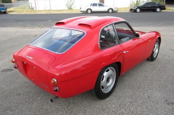 1962 Osca 1600gt Zagato Rear Corner