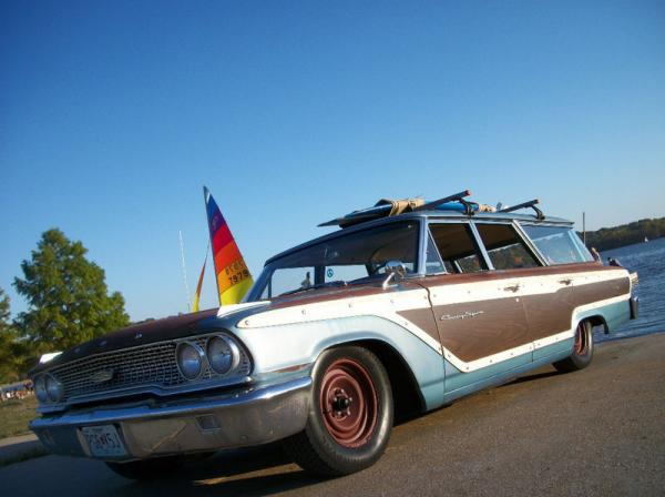 1963 Ford Country Squire Wagon Front