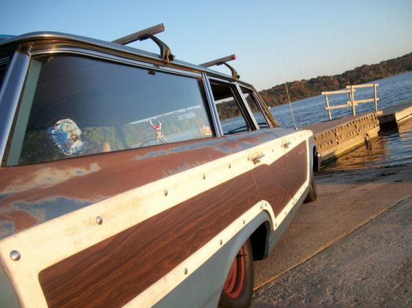 1963 Ford Country Squire Wagon Side