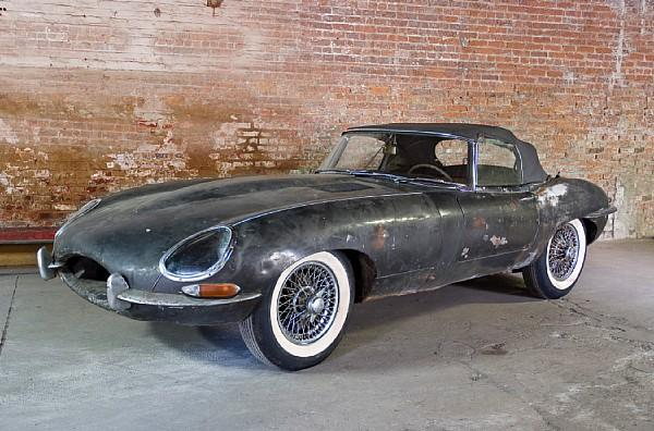 1963 Jaguar E Type Barn Find