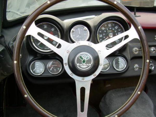 1963 Sabra Steering Wheel
