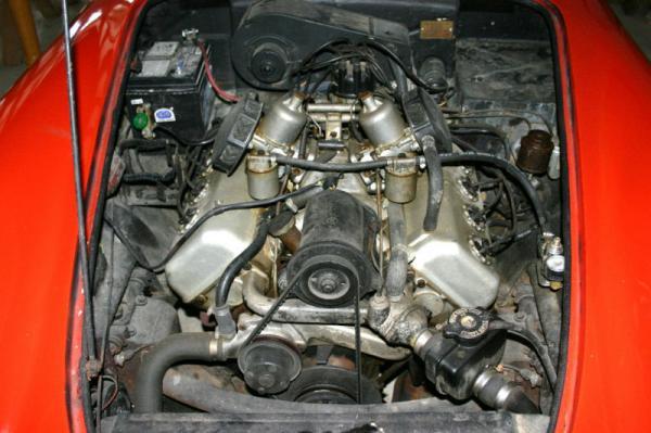 1963 Daimler Dart Engine