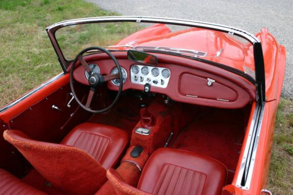 1963 Daimler Dart Interior