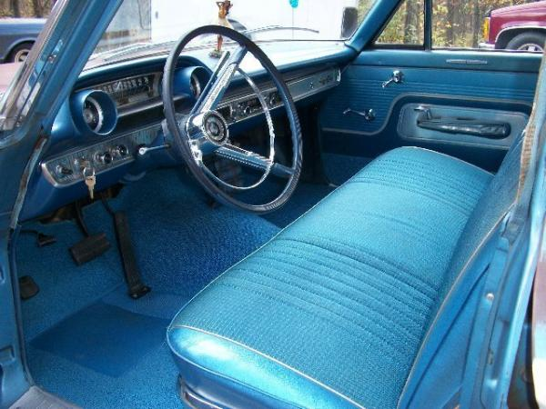 1963 Ford Country Squire Station Wagon Interior