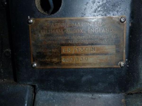 1964 Aston Martin Db4 Gt Zagato Replica Numbers