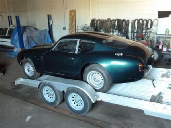 1964 Aston Martin Db4 Gt Zagato Replica Rear