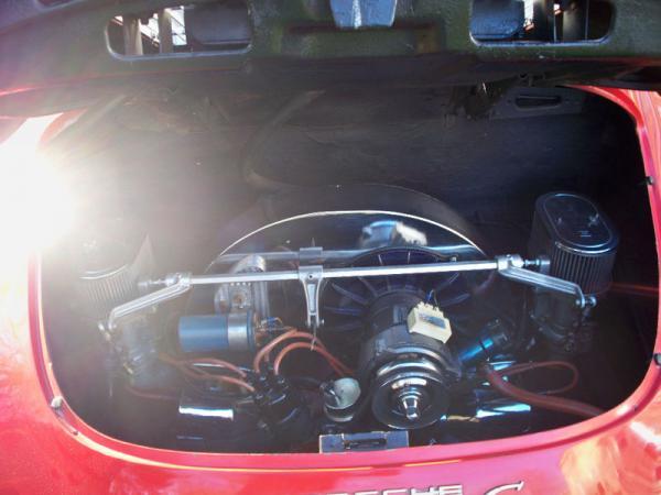 1964 Porsche 356c Baja Engine