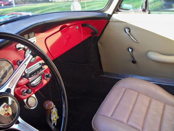1964 Porsche 356c Baja Power Interior