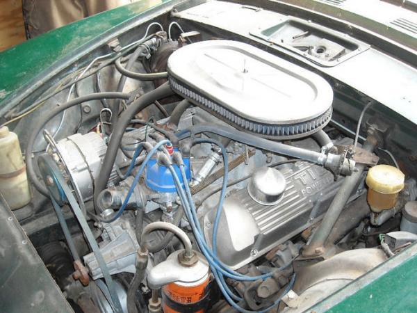 1964 Sunbeam Tiger Project Engine