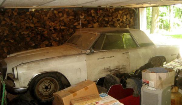 1964 Studebaker Gran Turismo Hawk Side In Garage