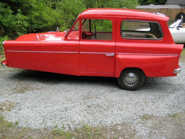 1965 Bond Minicar Mk G Side