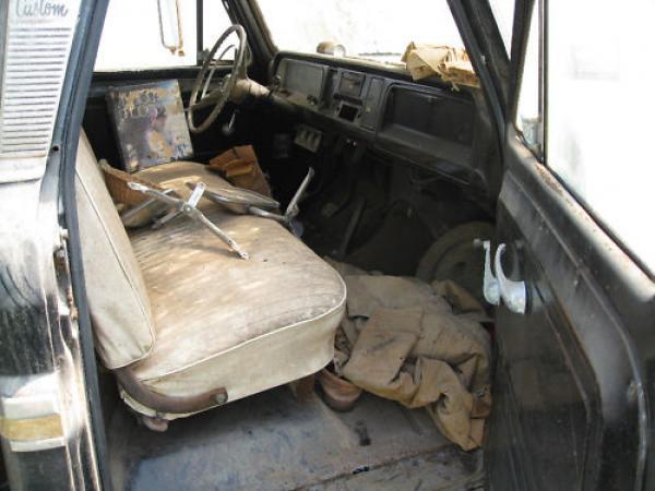 1965 Chevrolet Ck Front Interior
