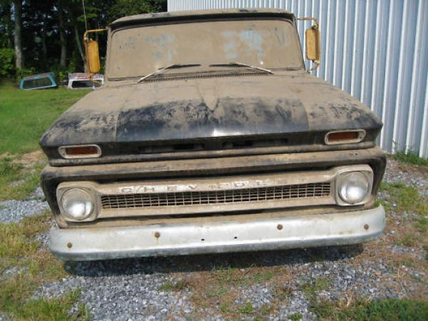 1965 Chevrolet Ck Front Uncleaned