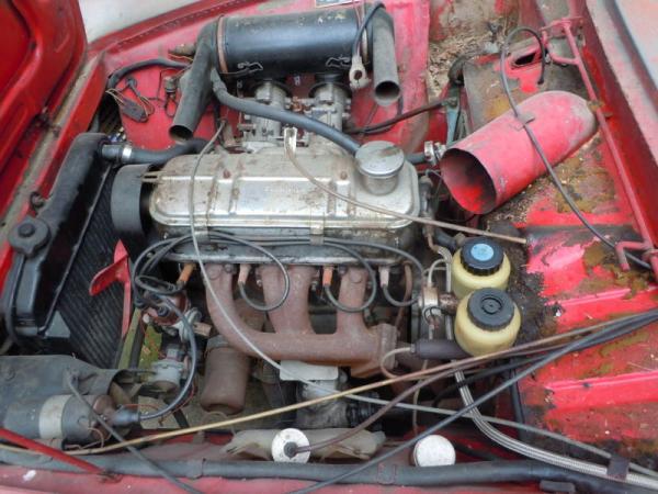 1965 Glas 1300 Gt Engine