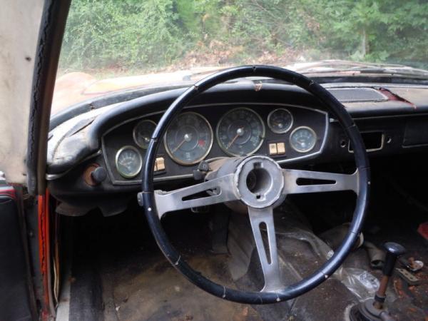 1965 Glas 1300 Gt Interior