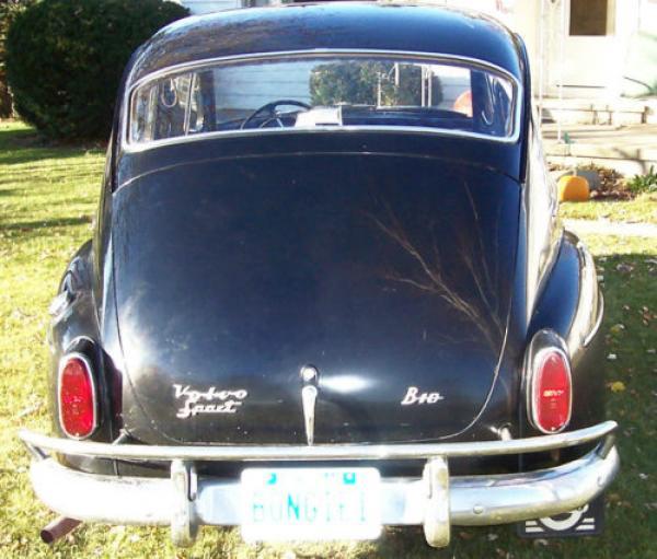 1965 Volvo 544 Rear