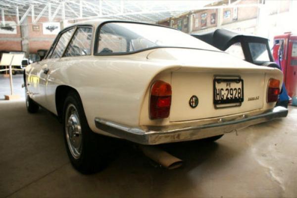 1966 Alfa Romeo 2600 Sprint Zagato Rear