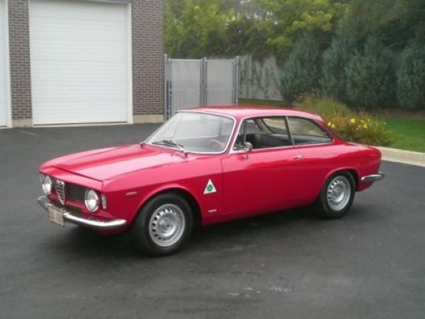 1966 Alfa Romeo Gta Drivers Side