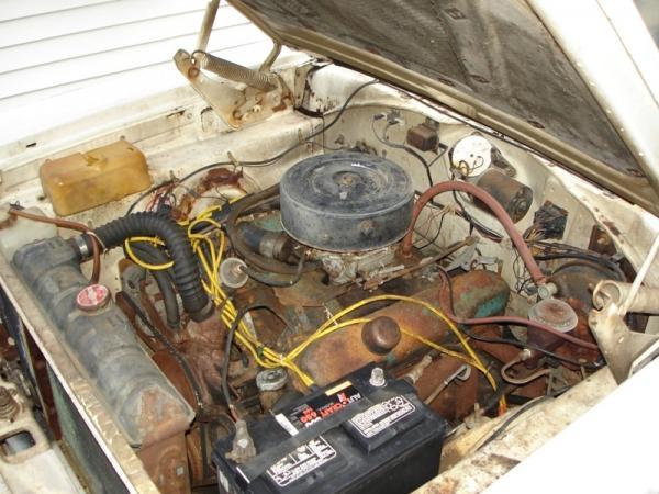 1966 Dodge Coronet 440 Engine