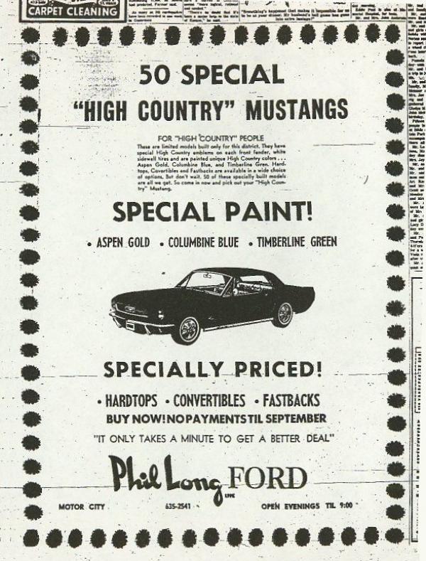1966 Hcs Ad