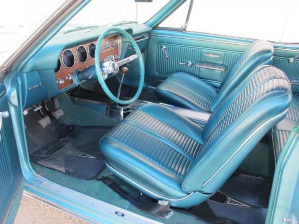 1966 Pontiac Gto Survivor Interior