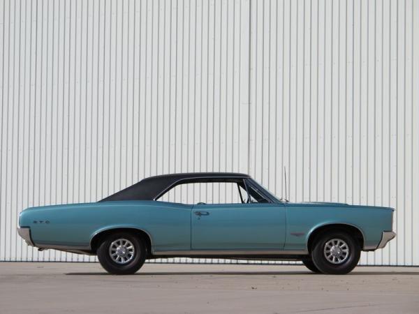 1966 Pontiac Gto Survivor Side View