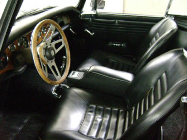 1966 Sunbeam Tiger Driver Interior