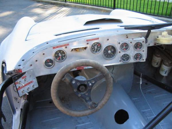 1966 Sunbeam Tiger Racer Project Dash