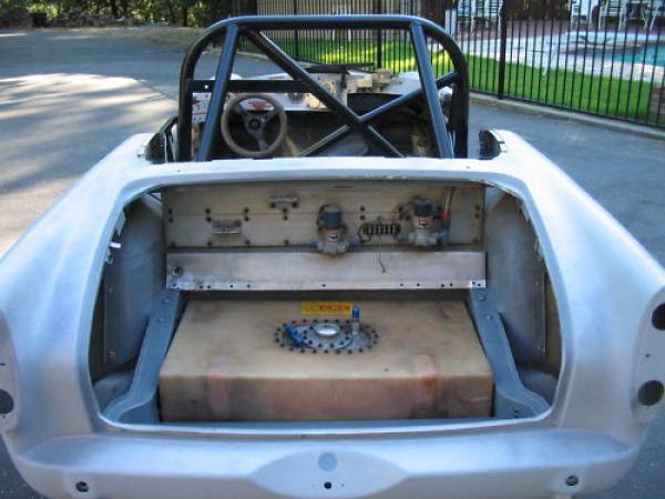 1966 Sunbeam Tiger Racer Project Rear