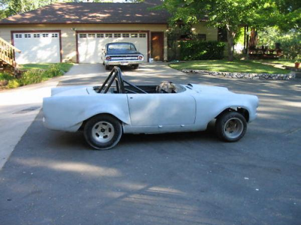 1966 Sunbeam Tiger Racer Project Side