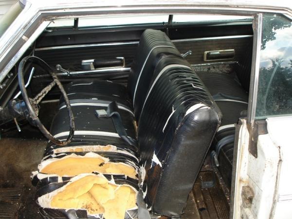 1966 Dodge Coronet 383 Interior