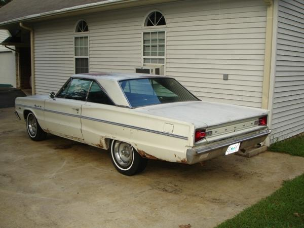 1966 Dodge Coronet 383 Rear Corner